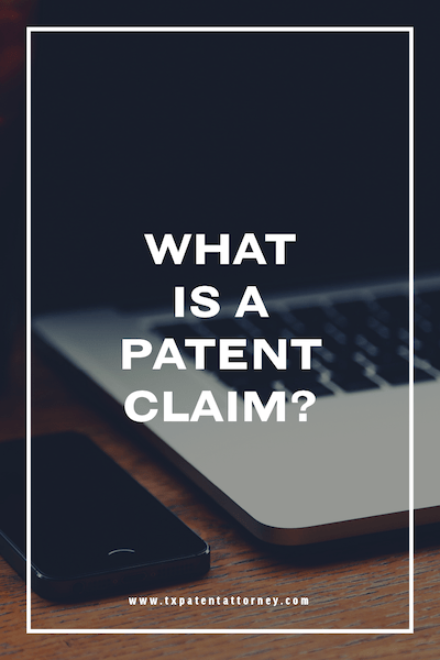what is a patent claim