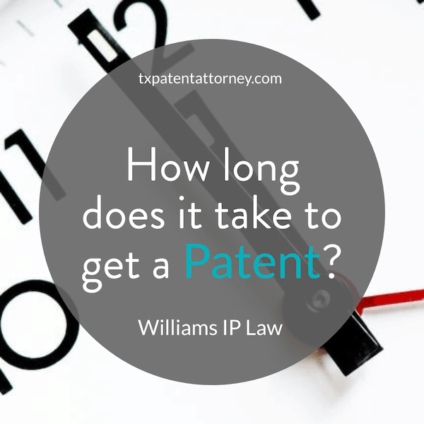 how long does it take to get a patent