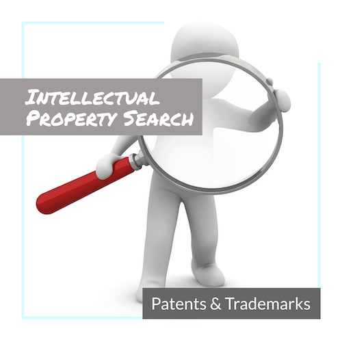 Intellectual property search for patents and trademarks