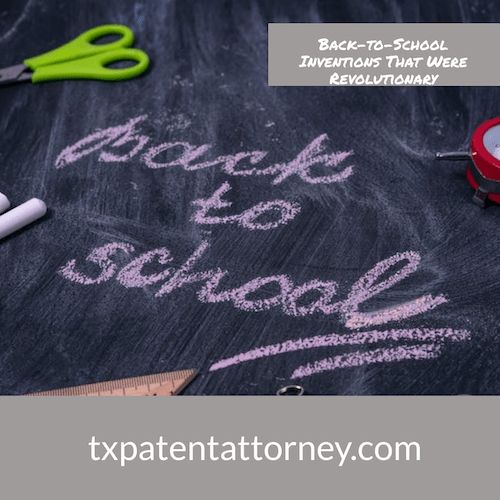 back to school patents