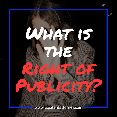 What is the right of publicity?